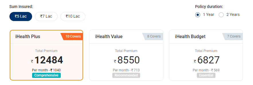 icici-lombard-premium